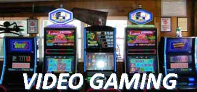Video Gaming Now Available in Our Bar!