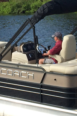 Coach Pontoon Boats
